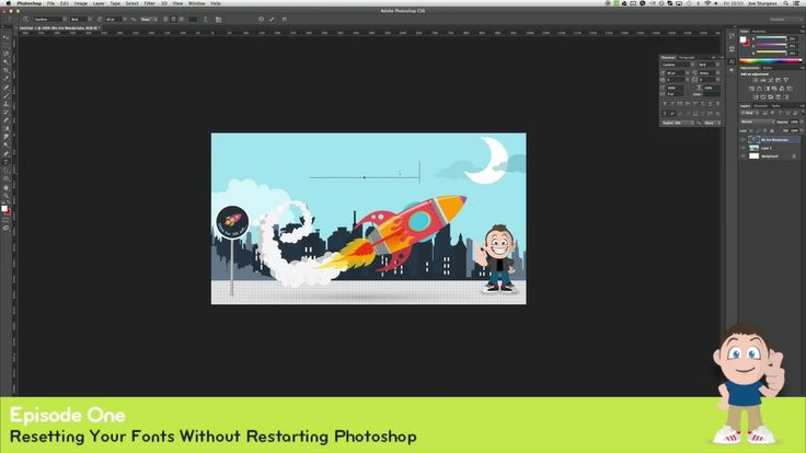 Design Tips for Non Designers: Resetting Fonts in Photoshop.