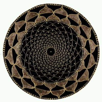 Beautiful and in-Balance Mandala