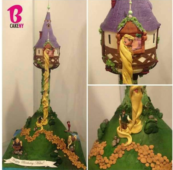 Character Cakes, Cakes Ideas, Huge Tangled, Tangled Towers, Parties ...
