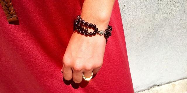 safety pins bracelet |pulseira de alfinetes de ama