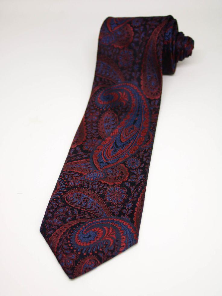 Jean luc Ties/Vintage Ties/Gentleman's Ties/Fashion Ties/Silk Neckties/Men Gifts/Gents Gifts/Classy gifts/Budget ties/Paisley Print