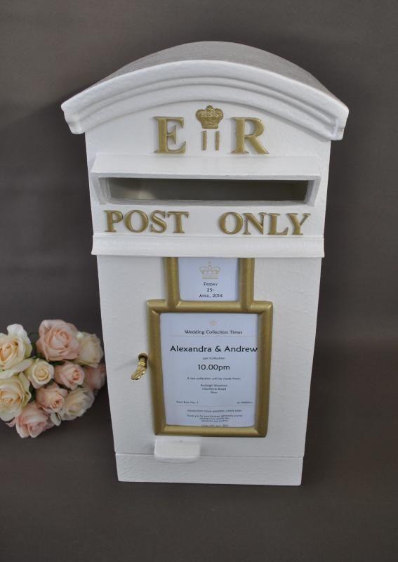 Wedding  Royal Mail English Post Box Wishing Well - Hire - WeddingWish.com.au