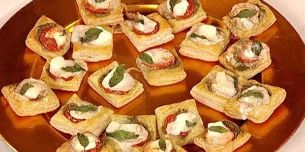 Try this Tomato and Goat's Cheese Tartlets recipe by Chef Antony Worrall Thompson.
