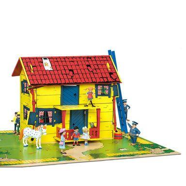 Villa Villekulla med lekplatta