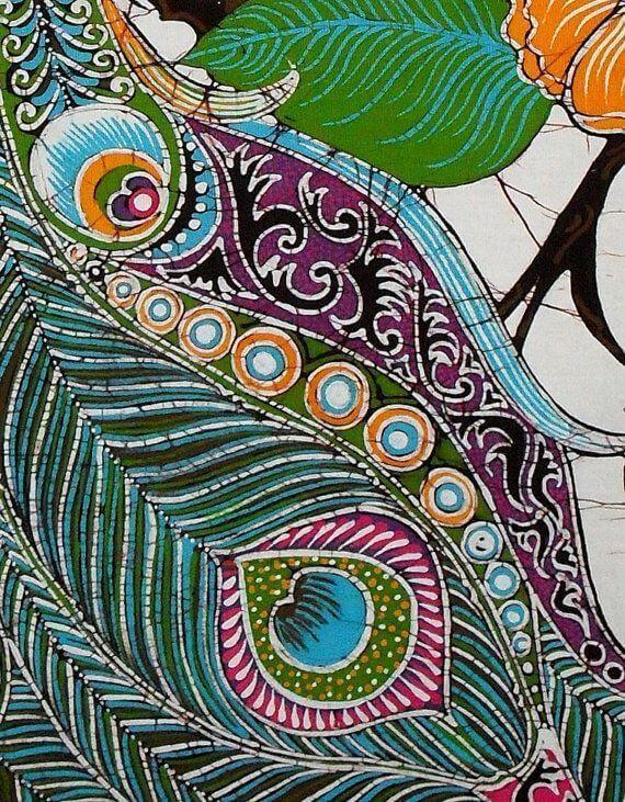 художественная роспись ткани