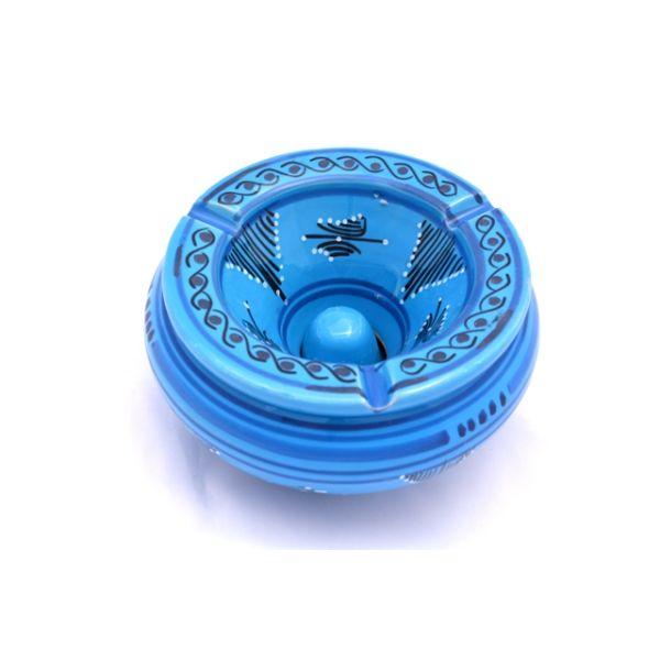 Cendrier marocain moyen : Bleu