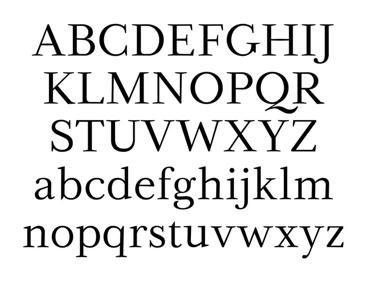 Serif: Small, finishing strokes on the arms, stems, and tails of characters. Serif typefaces are usually used for text since the serifs form a link between letters that leads the eye across a line of type.