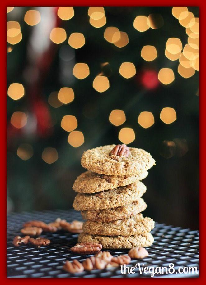 Chewy Maple Pecan Cookies | Recipes ~ Vegan Cookies | Pinterest
