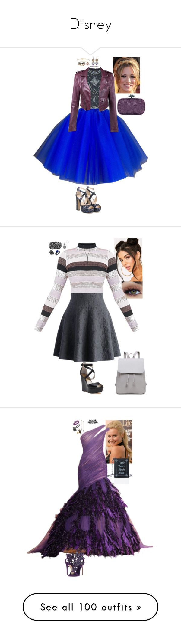"""""""Disney"""" by stinze on Polyvore featuring Jimmy Choo, Bottega Veneta, Isabel Marant, Marc Jacobs, ABS by Allen Schwartz, 1928, Chicwish, nOir, MICHAEL Michael Kors and Witchery"""