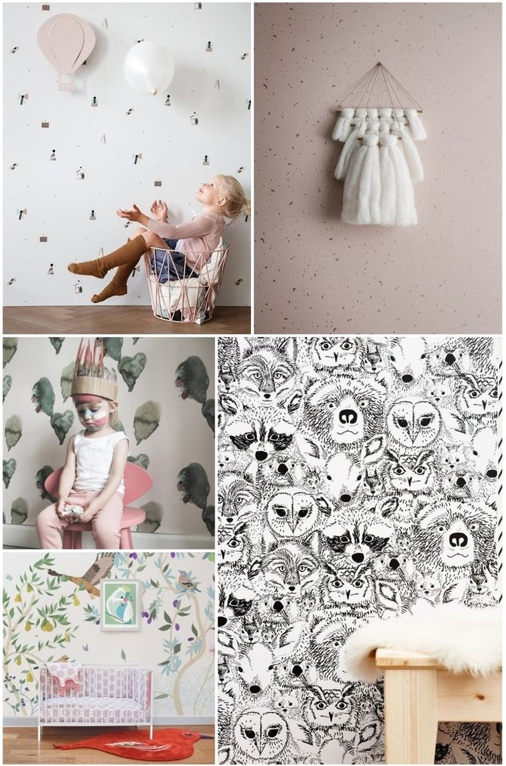 The best wallpapers for the kids room