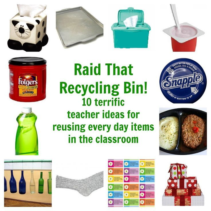 Top 25 ideas about Classroom Recycling Decor & Projects on ...