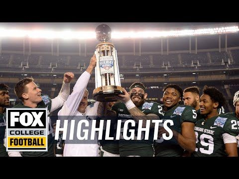 Washington State vs Michigan State | Highlights | FOX COLLEGE FOOTBALL