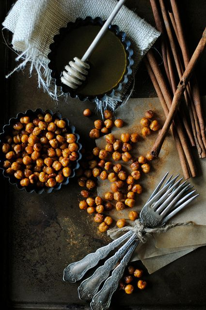 Cinnamon and Honey Roasted Chickpeas | Flickr - Photo Sharing!