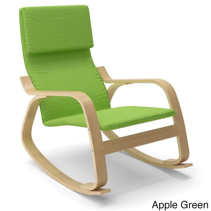 Awesome CorLiving Aquios Bentwood Contemporary Rocking Chair Photo Gallery