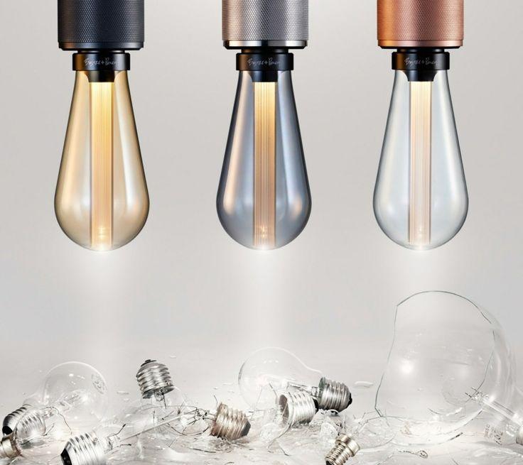 LED Glühbirnen Lampe von Buster+Punch mit rustikalem Look