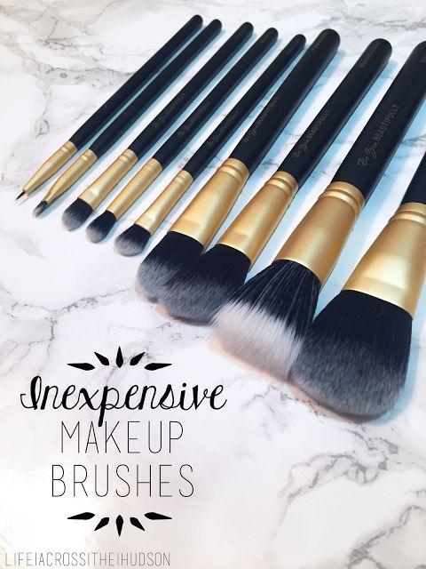 Amazing Affordable Makeup Brushes | Inexpensive Makeup Brushes | High Quality Makeup Brushes | Be You, Beautifully | via LifeAcrossTheHudson.com