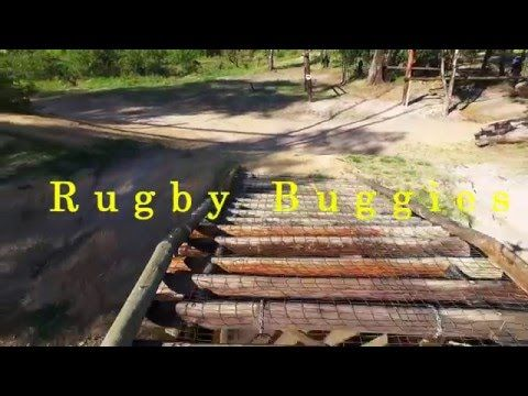 Rugby Buggies on the Beast Obstacle course