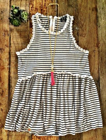 Pilcro Top - Stripe – Bungalow 123