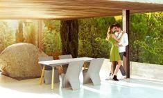 Tavoli Sala da Pranzo di Design in Resina : Modello SLOO