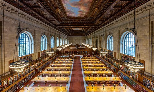 After two years and $12m, the New York Public Library reopened the Rose main reading room and Bill Blass public catalog room at the Stephen A Schwarzman building
