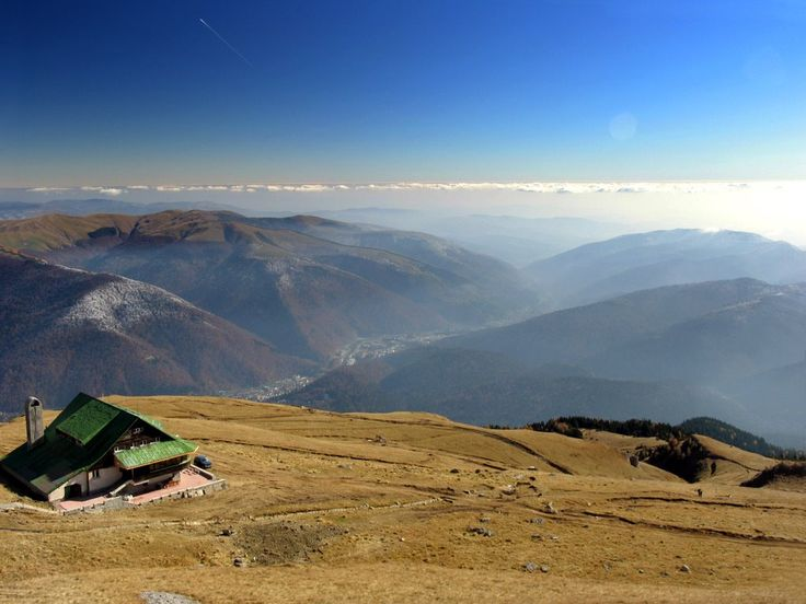 Beautiful landscape in Sinaia.