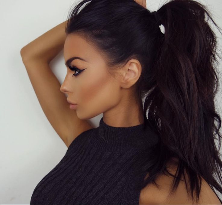 ponitail hair style 25 best ideas about high ponytail hairstyles on 6736