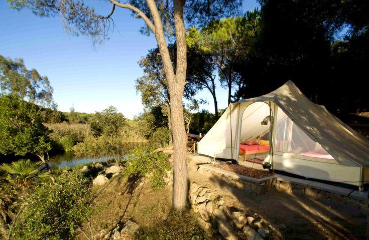 Camping Sardaigne: Camping & Bungalows Porto Sosàlinos