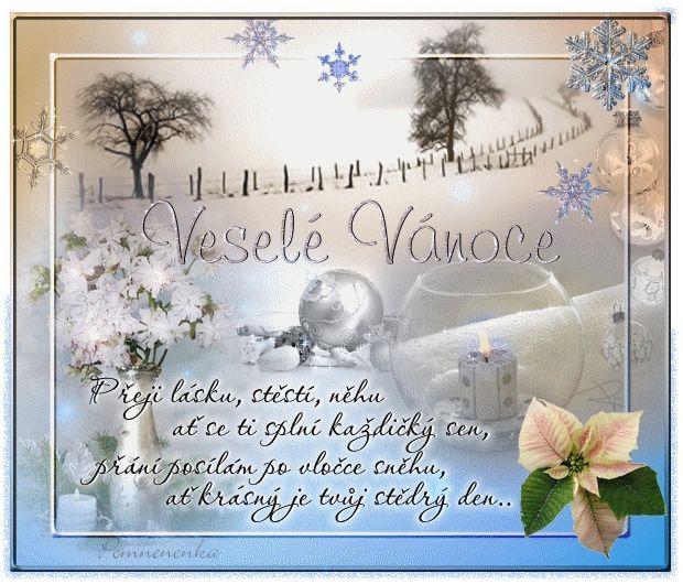 Vánoční přání - Obrázková přání