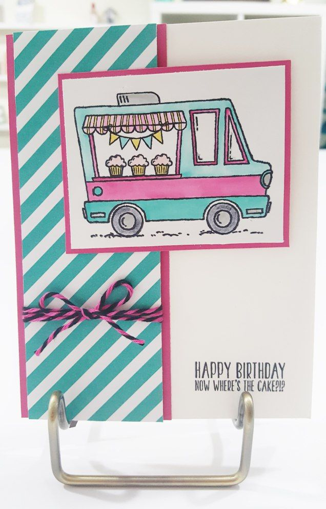 Stampin' Up- Tasty Trucks (Sale-A-Bration 2017)