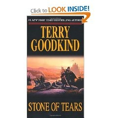 The second book in the Sword of Truth series, Stone of Tears is another amazing read. #magic #fantasy
