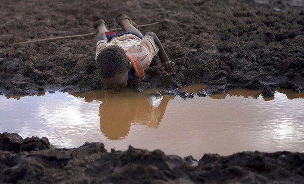 Чтобы перестать жаловаться на жизнь, вы должны хоть раз побывать в Африке.   © Леонардо Ди Каприо