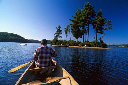 Algonquin Provincial Park, Ontario, CA. (Who would have though I'd enjoy backcountry camping & canoeing?!)