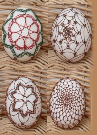 Decor eieren Draad