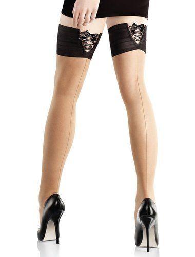 Ciorapi cu banda adeziva Marilyn Coco 516 #ciorapi