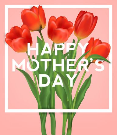 set happy mother039s day art background
