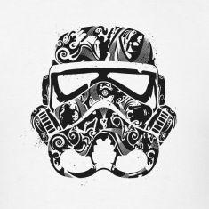 Beautiful Star Wars stormtrooper t shirt
