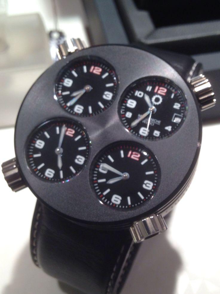 Meccaniche Veloci, Quatro Valvule. De aluminio y de titanio. Reloj 4 máquinas automáticas movimientos  ETA. Con estuche y garantía .precio súper especial :1600€