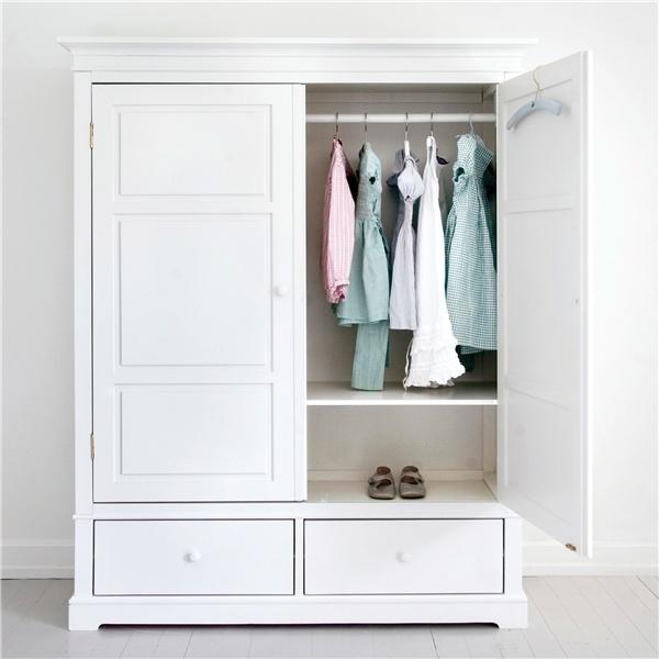 Klädskåp med 2 dörrar - Oliver Furniture - Möbler, Newport, New England - Countryhouse