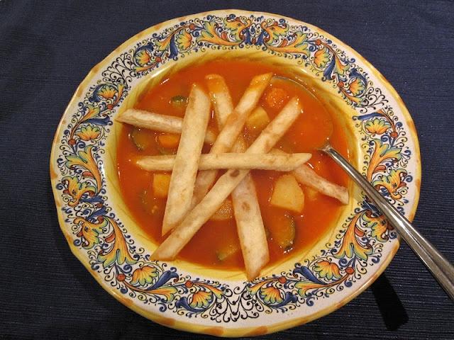 My Quick & Easy Tortilla Soup! Mmmm!