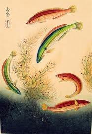 ohno bakufu fish block print