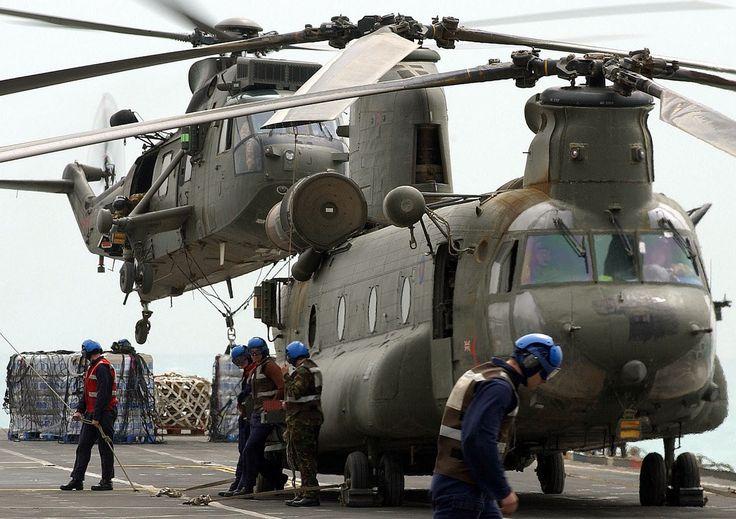 UK choppers: Grand Logistics