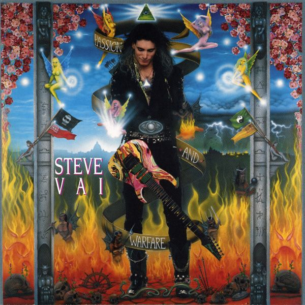 Steve Vai - Passion & Warfare You cant separate the man from the guitar and vice versa He's a legend