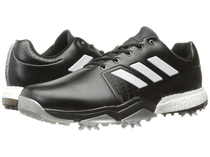 adidas Golf Adipower Boost 3 Men's Golf Shoes Core Black/Ftwr White/Silver Metallic