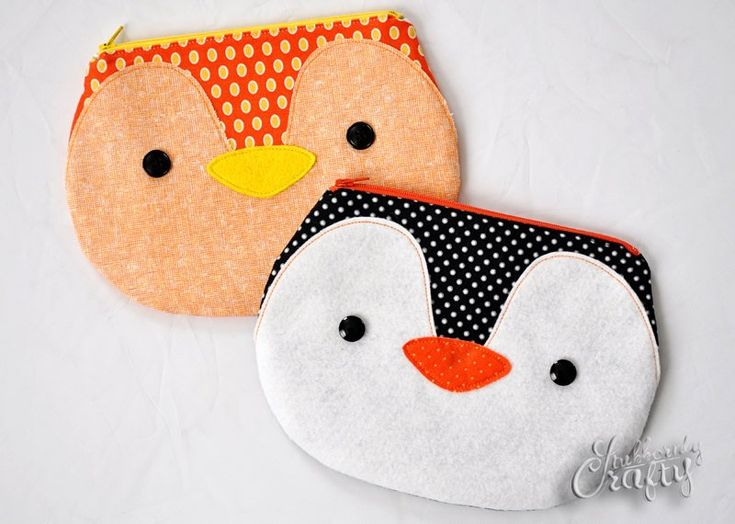 Bird or Penguin Zippy Critter PDF Pattern Sewing Pattern PDF | Etsy