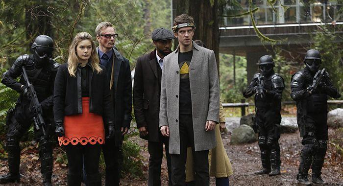 The cast of Legion ( Dan Stevens, Michelle Faye/FX)