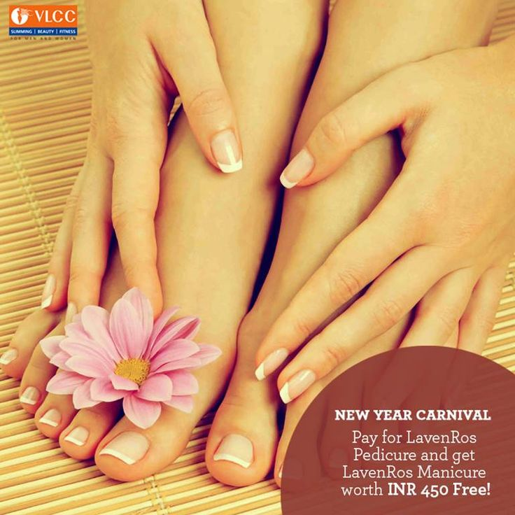 New Year Carnival #Offer: Pay for LavenRos Pedicure and get LavenRos Manicure worth INR 450 Free!