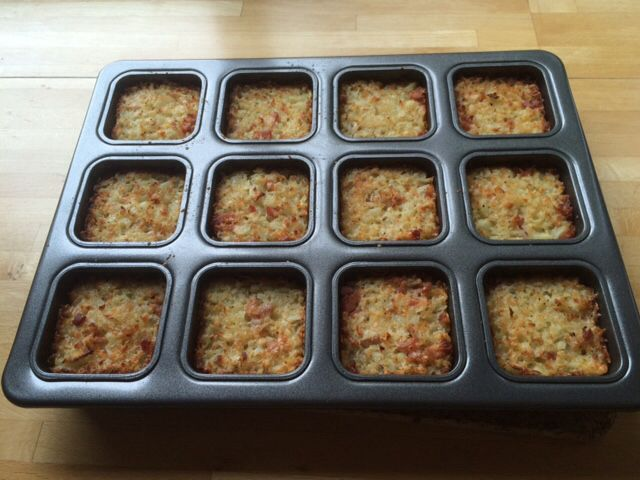 Judy's #Thermomix Cheese & Bacon Hash Browns http://bit.ly/1GvQYzO