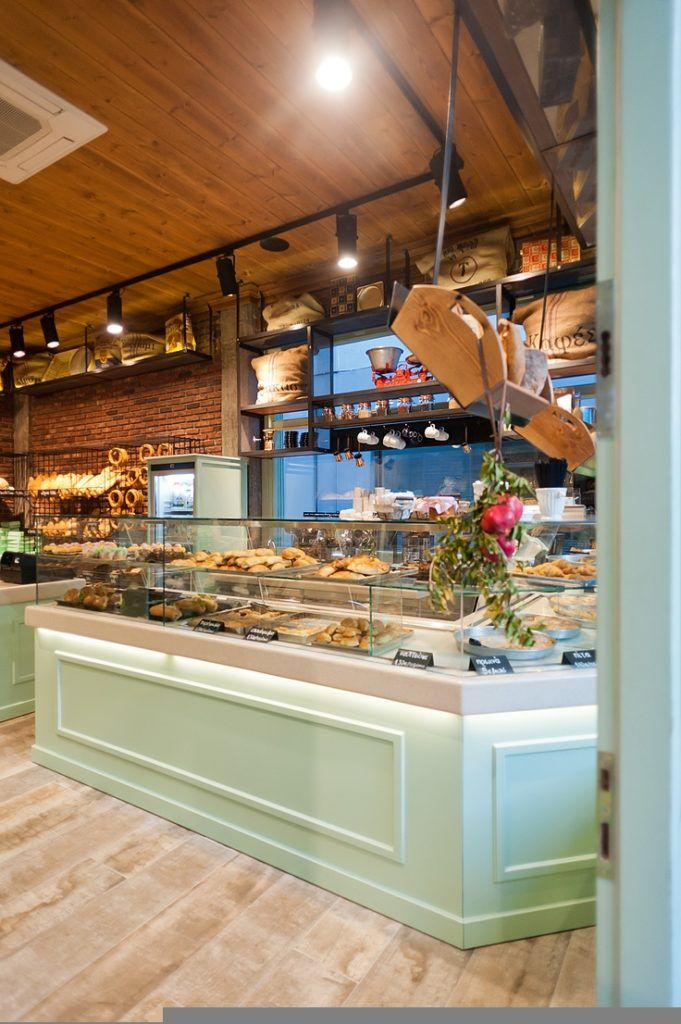 Knockout Bakery Interior Design Ideas About On Small