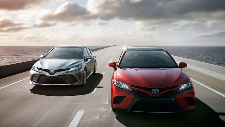 Американская версия Toyota Camry нового поколения