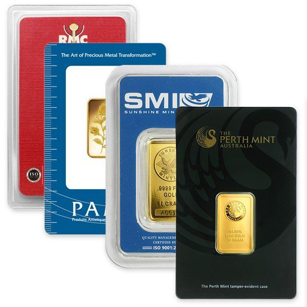 10 Gram Gold Bars 9999 Pure Gold Bars For Sale Gold Bar Gold Bullion Bars